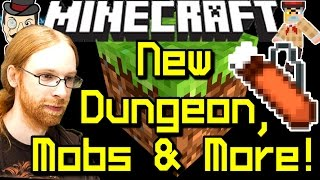 Minecraft News NEW DUNGEON & MOBS, Quiver, Boss Fight & More!
