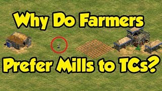 Why Do Farmers Prefer Using Mills Instead of TCs?