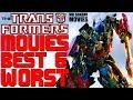 The TRANSFORMERS Movies - Worst To Best