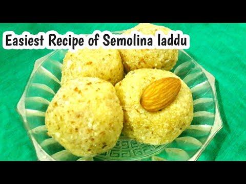 पितृपक्ष मे बनने वाले सूजी के लड्डू |sooji laddu recipe in hindi|how to make semolina laddu