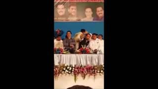 Woman Congress Corporator Waqar unnisa Ansari is [ last 20yrs] in AIMIM Public Meeting Khadak Mumbai