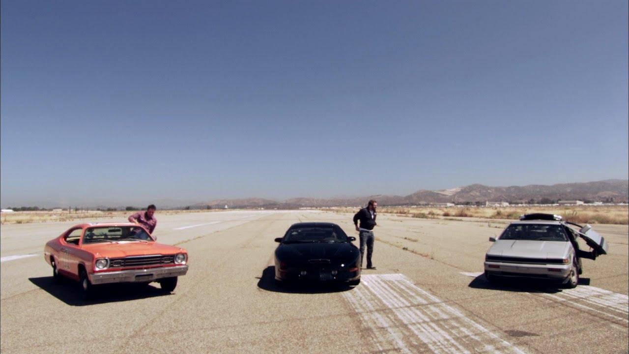 Delorean Vs Kitt Vs General Lee Hollywood Cars Top