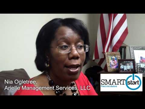 Nia Ogletree of Arielle Management speaks about SMARTstart Business Incubator