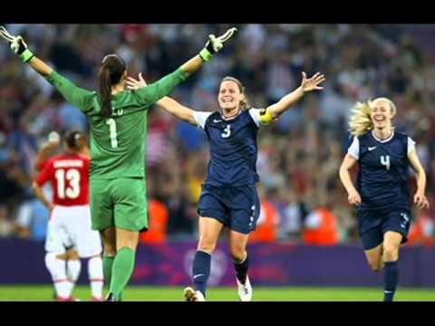Equipo De Futbol Femenino De USA En los Juegos Olimpicos 2012