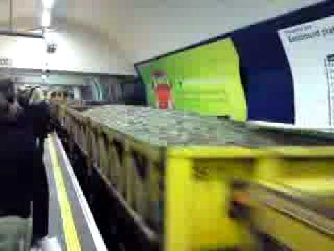 London Underground Freight Tube!