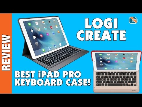 Logi CREATE Backlit Keyboard Case Review for iPad Pro @LogitechUK