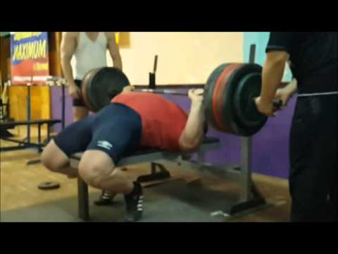 Kirill Sarychev - Bench Press training Image 1