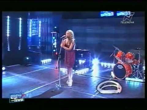 Rosita  canta dal vivo Amor mio di Mina