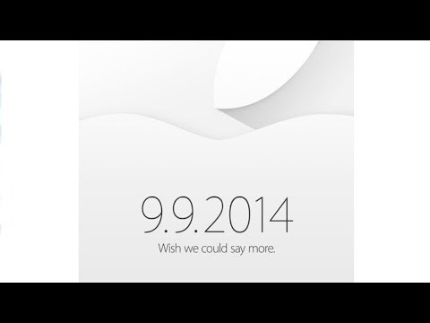 Apple Confirms September 9th Event! iPhone 6 and iWatch!