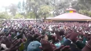 Oromo Protesters' funeral processions turn into protest