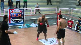 Ibrahim ELsawi VS  Ahmad Hammer EFFC 3 القتال المفتوح