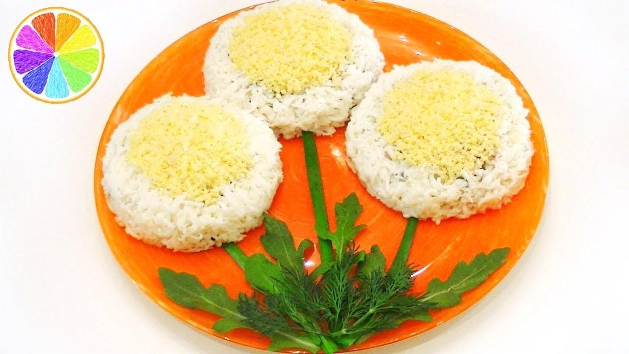 Рецепт оригинальных салатов с простые и вкусные