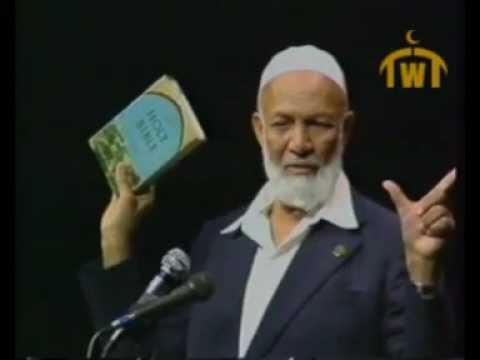محاضرة.. الإسلام وديانات أخرى للشيخ أحمد ديدات