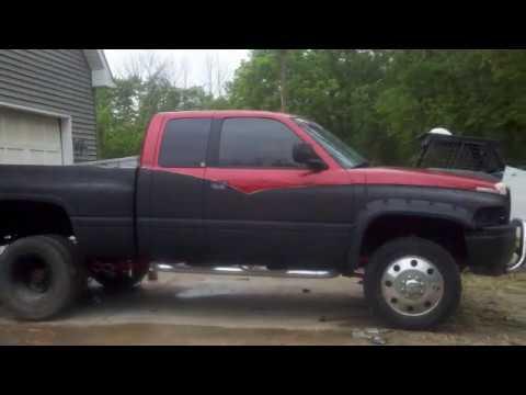 Homemade 4x4 Dodge Ram Shortbed Dually Youtube