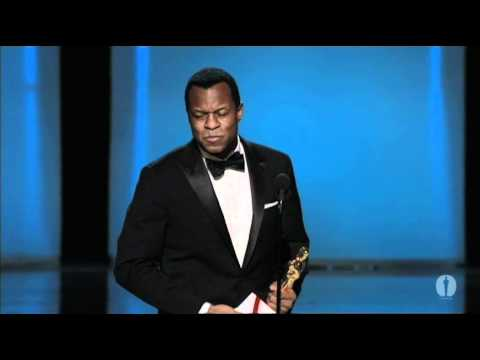 Geoffrey Fletcher winning Best Adapted Screenplay for