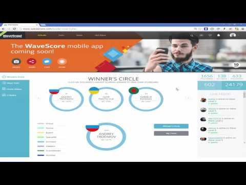 WaveScore   новая социальная видео сеть, где каждый может заработать без вложений и без риска !
