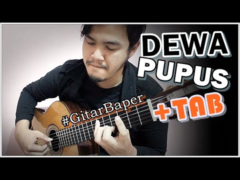 (dewa) Pupus - Classical Fingerstyle Guitar Cover video