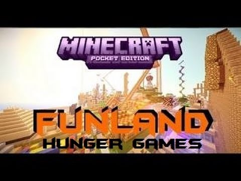 Minecraft PE Hunger Games! [Funland] [Download]
