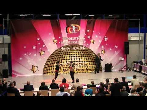 Julia Weigel & Alexander Jobst - Süddeutsche Meisterschaft 2012