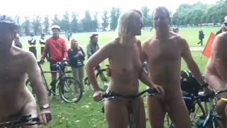 The Cambridge 2016 Naked Bike Ride part1 [Warning Contains Full Frontal Nudity]