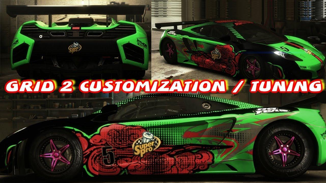Grid 2 Customization / Tuning