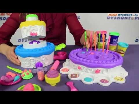 Play doh набор праздничный торт