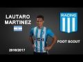 LAUTARO MARTINEZ Racing Goals Skills Assists 2017 HD mp3
