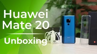 Huawei Mate 20 Unboxing