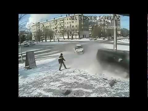 Подборка ДТП с видеорегистраторов 22
