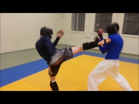 Mixed Martial Arts - Sparring Session 2 - Three Fighters Image 1