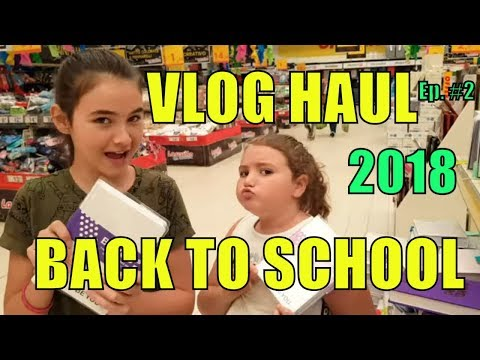 HAUL BACK TO SCHOOL 2018 VLOG  Ep 2 By Marghe Giulia Kawaii