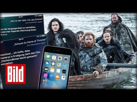 Siri Liebt Game Of Thrones Spoiler Iphone