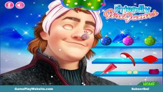 Frozen Kristoff Christmas Make-up Video Game - Baby Girl Games