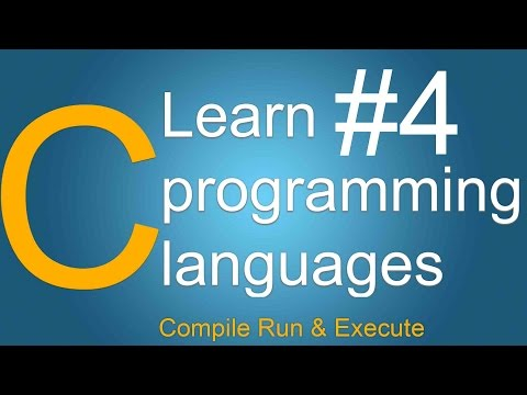 c programming tutorials for beginners in hindi urdu Compile Run & Execute a c code