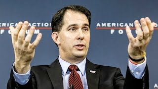 Wisconsin Destroyer Scott Walker Doubles Down On Attacking Labor Unions