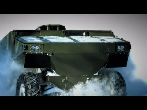Bae Systems - Alligator 6x6 Armoured Patrol Vehicle [480p] video