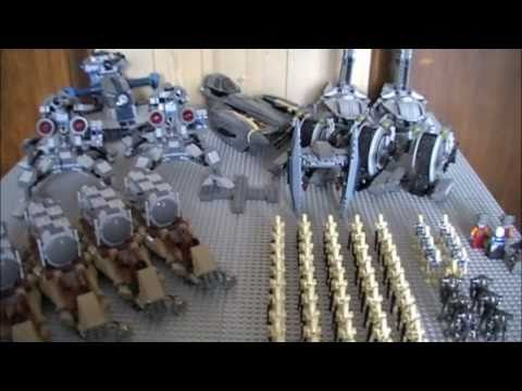 My New LEGO Star Wars Droid Army