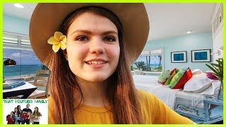 Millionaire Beach House Tour / That YouTub3 Family