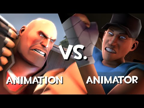 Animation vs. Animator (Saxxy Awards 2014)