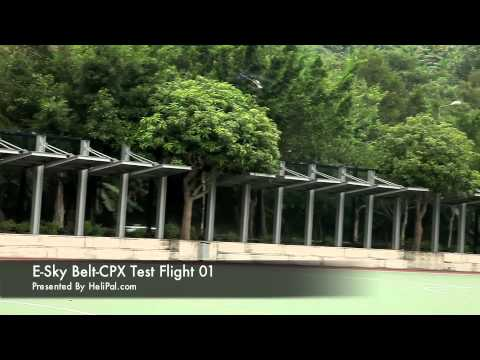 HeliPal.com - ESKY Belt-CPX Outdoor Helicopter Test Flight 01