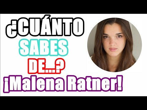 ¿Cuánto sabes de Malena Ratner?  - TEST