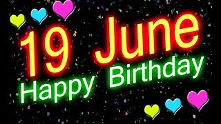 19 June Special New Birthday Status Video, happy birthday wishes, birthday msg quotes जन्मदिन