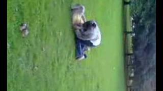 Sinead Attackin Gemmie At The Park..xx