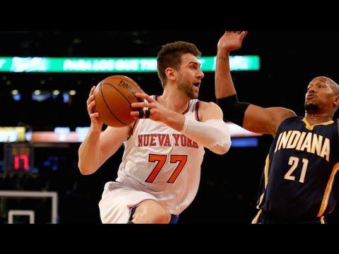 Andrea Bargnani Full Highlights 2015.03.07 vs Pacers - 21 Points, 10-14 FGs!