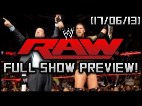 WWE RAW 06/17/2013: FULL SHOW PREVIEW! Mark Henry. Brock Lesnar & Christian Return!