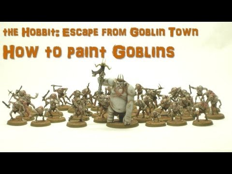 How to Paint Goblins from the Hobbit