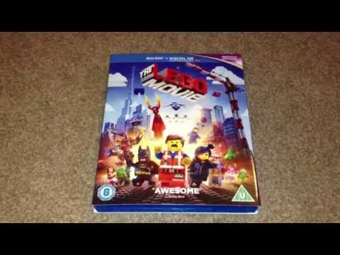 The Lego movie blu-ray unboxing