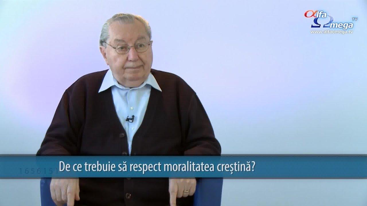 Daca sunt crestin, de ce trebuie sa respect moralitatea crestina?