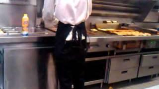 Steak N Shake Dude making my Royale Burger.3GP