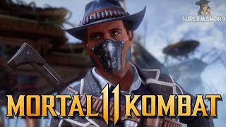 "First Time Playing ERRON BLACK Online! - Mortal Kombat 11: ""Erron Black"" Gameplay"